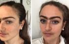 Esta mulher se recusa a tirar o buço e a fazer as sobrancelhas para ir a um encontro e recebe uma chuva de insultos