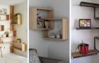 Rendi unico ogni angolo di casa con 10 idee per arredare con mensole e ripiani su misura