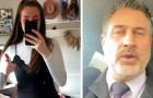 A 17-year-old student is sent home because her dress