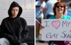 Een jongen verklaart homo te zijn en zijn vader gooit hem het huis uit: zijn moeder vraagt onmiddellijk om een scheiding