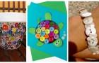 Décorez avec les boutons grâce à ces idées faciles, amusantes et adaptées à tous les âges