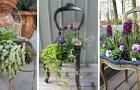 Chaise cassée ? Ne la jetez pas : transformez-la en une splendide jardinière pour le jardin ou la maison