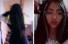 Obbliga la figlia a scusarsi pubblicamente per i suoi video su TikTok: