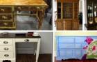 Fatigués de vos meubles à l'aspect démodé ? Donnez-leur une seconde vie avec un peu de peinture