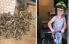 They save up $1,060 to pay off a debt, but then discovered that their 2-year-old son had destroyed the bills in the paper shredder.