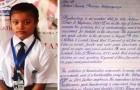 Die Handschrift dieses Mädchens wurde zur besten der Welt gewählt: Sie scheint aus einem Computer zu kommen