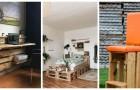 Meublez votre maison avec les palettes grâce à ces 11 projets de recyclage