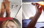 15 photos de passagers à côté desquels on ne voudrait jamais se trouver en avion