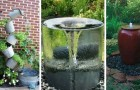 Fontane e giochi d'acqua fai-da-te: trasforma il giardino in un'oasi di relax con queste idee