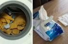 Salviette umidificate in lavatrice: il trucco semplice ed efficace per un bucato perfetto