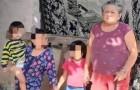 Een arme oma met gezondheidsproblemen vraagt hulp om voor haar 7 kleinkinderen te zorgen: ze heeft niets te eten