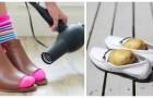 Chaussures trop serrées ? Essayez de les élargir avec ces astuces DIY