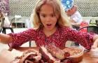 Mother forces vegan daughter to cook meat as punishment for wasting food in the house