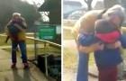 Bimbo di 3 anni riabbraccia finalmente la nonna dopo mesi di distanziamenti