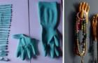 Vieux gants en caoutchouc ? Ne les jetez pas et découvrez de nombreuses idées pour obtenir des objets créatifs