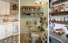 Meublez la cuisine dans un style country et créez un espace accueillant au charme atemporel