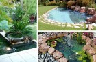 Un lac magique dans le jardin : 11 idées pour créer de splendides oasis de tranquillité
