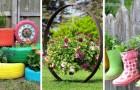 Des jardinières DIY avec des objets de récup : découvrez comment apporter quelque chose d'unique à vos plantes grâce à ces projets
