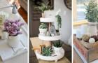 Fate largo allo stile rustico in casa con questi irresistibili vassoi fai-da-te in stile farmhouse