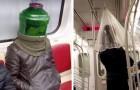 An der Grenze zur Realität: 15 Beispiele von sonderbaren Menschen, denen man zufällig in den öffentlichen Transportmitteln begegnet
