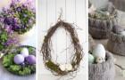 Nidi, uova colorate e rami: 13 decorazioni eleganti per celebrare la Pasqua con creatività