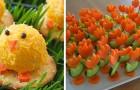 7 ideas divertidas para sorprender a sus invitados con exquisitos aperitivos de Pascua
