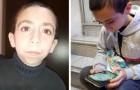 Un enfant veut dépenser toutes ses économies pour retrouver le téléphone portable où il gardait des photos de sa mère