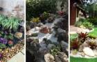 Donnez une nouvelle vie à votre jardin avec les plantes et les pierres : découvrez comment créer de très beaux parterres colorés