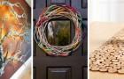 Riempi la tua casa di splendidi accessori fai-da-te riciclando i rami di legno