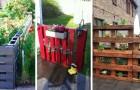 Clôtures et cloisons de jardin : découvrez comment en obtenir à partir de palettes recyclées
