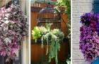 Jardinières suspendues dans le jardin : découvrez comment les créer en recyclant de vieux objets que vous n'utilisez plus