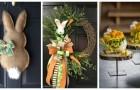 Pâques : décorez votre maison avec fantaisie grâce à ces 12 créations charmantes