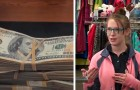 A young mom finds $42,000 in some used clothes and returns it to the owner