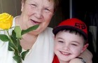 6-year-old boy gives a rose to every woman in the neighborhood using his savings: a true gentleman