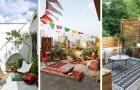 Salotti da sogno all'aperto: tante splendide idee da cui prendere spunto per giardini, cortili e balconi