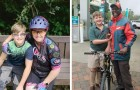 Un enfant dépense toutes ses économies pour offrir un vélo au pompiste qui l'a secouru