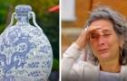 Fa valutare un vecchio vaso e scopre che ha un valore altissimo: non riesce a trattenere le lacrime
