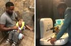 Un père de famille milite pour que des tables à langer soient également installées dans les toilettes pour hommes