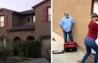 A couple buy a house but the ex-owner refuses to give them the keys: he has been illegally occupying it for more than a year