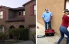 Ett par köper ett hus, men den föredetta ägaren vägrar ge dem nycklarna eftersom han ockuperar det sedan 1 år tillbaka