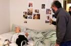 Vuelve a abrazar a la madre de 98 años después de 1 año de distanciamiento: la expresión de la mujer es impagable