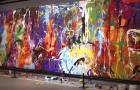 Ils prennent un tableau de 440 000 $ pour une œuvre interactive et peignent dessus : arrêtés