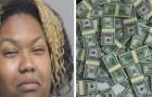 Vengono accidentalmente depositati 1,2 milioni di dollari sul suo conto ma si rifiuta di restituirli: arrestata