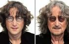 Intelligence artificielle : un garçon nous montre à quoi ressemblerait aujourd'hui le visage de 13 célébrités disparues