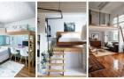 Lit mezzanine : la solution idéale pour meubler avec style et faire de la place dans les petites pièces