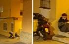 Er lernt unter der Straßenlaterne, nachdem er die Abendschicht beendet hat: Zwischen Schule und Arbeit hat er keine Zeit, es zu Hause zu tun