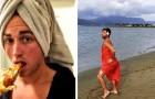 17 Fotos von Männern, die Frauen necken, indem sie klassische Instagram-Posen nachstellen