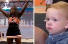 Cheerleader redt een kind die bijna stikte in een snoepje en wordt de held van haar school