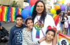 Trans mom adopts three children rejected by their parents: she tries to give them a better life