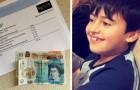 Con 5 años ayuda a los electricistas en su casa cuidando siempre de ellos: al final del trabajo, le regalan 20£